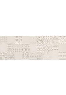 Tubądzin INTEGRALLY light grey dekor ścienny 32,8x89,8