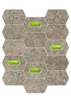 Tubądzin LEMON STONE grey mozaika ścienna 29.8x25