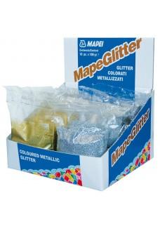 Mapei Mapeglitter Silver  0,1 kg - Brokat Srebrny