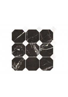 Nowa Gala MAGIC BLACK MB14 mozaika oktagon mix 33x33