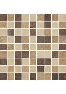 Paradyż Mistral Beige mozaika cięta mix poler 29,8x29,8 G1