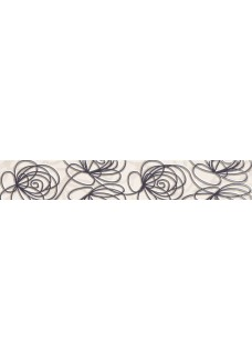 Tubądzin WAVE Modern grey listwa ścienna 44,8x7,1