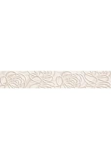 Tubądzin WAVE Modern white listwa ścienna 44,8x7,1