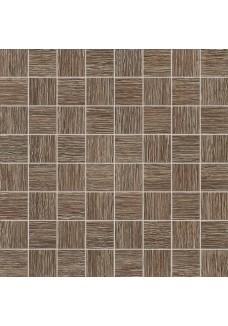 Tubądzin BILOBA brown mozaika ścienna 32,4x32,4