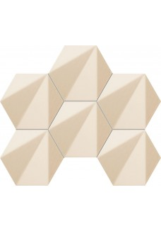 Tubądzin CHENILLE Beige hex 28,9x22,1