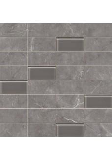 Tubądzin Dekor ścienny Gobi ornament grey 30,8x60,8