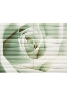 Tubądzin MAXIMA azure 2 obraz ścienny 6-elementowy  89,8x67,3