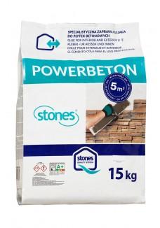 Stones POWERBETON zaprawa klejąca 15kg