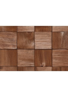 Stegu Panele Ścienne QUADRO 2 (Wood Collection) 380x380x6-14mm