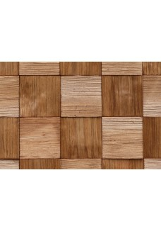 Stegu Panele Ścienne QUADRO 3 (Wood Collection) 380x380x6-14mm