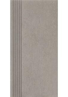 Paradyż Rino grafit stopnica prosta nacinana mat 29,8x59,8