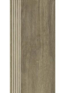 Paradyż ROBLE Ochra stopnica mat 29,4x59,9