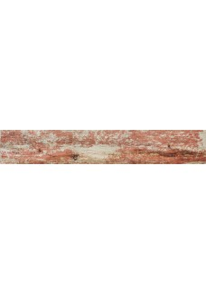 Tubądzin SHABBY CHIC red 89.8x14.8