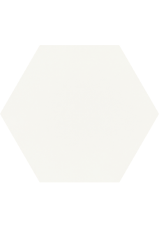 Paradyż SHINY LINES Bianco heksagon 19,8x17,1