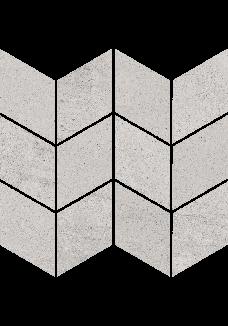 Paradyż SPACE Grys Mozaika braid mat 20,5x23,8