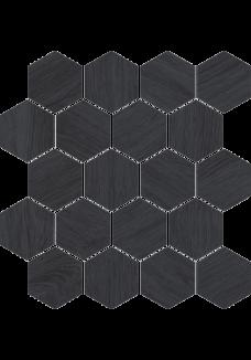 Paradyż TAIGA Grafit Wood mozaika 25,8x28