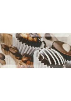Paradyż TAMOE Inserto A (czekoladki) 9,8x19,8cm - dekor
