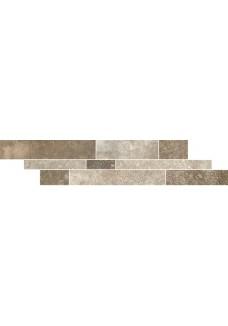 Paradyż TRAKT beige listwa mix paski 14.3x71