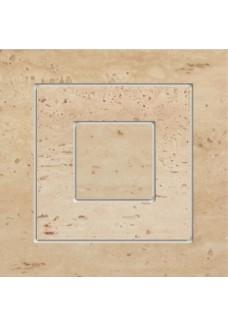 Tubądzin TRAVERTINE 11P narożnik podłogowy 14,8x14,8