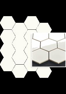 Uniwersalna Mozaika Bianco Paradyż Hexagon 22x25,5