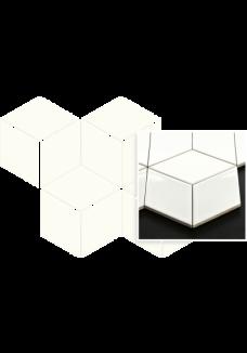 Uniwersalna Mozaika Bianco Paradyż Romb Hexagon 20,4x23,8