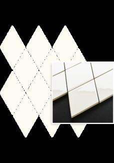 Uniwersalna Mozaika Bianco Paradyż Romb Pillow 20,6x23,7