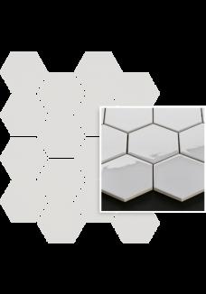 Uniwersalna Mozaika Grys Paradyż Hexagon 22x25,5