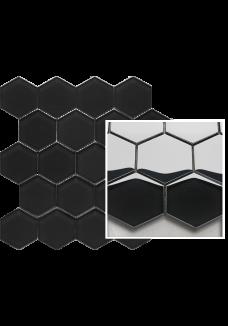 Uniwersalna Mozaika Nero Paradyż Hexagon 22x25,5