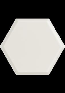 Paradyż WOODSKIN Bianco heksagon struktura A 19,8x17,1