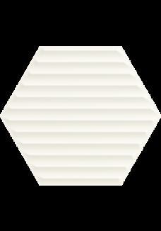 Paradyż WOODSKIN Bianco heksagon struktura B 19,8x17,1