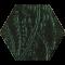 Paradyż URBAN COLOURS Green Heksagon 17,1x19,8